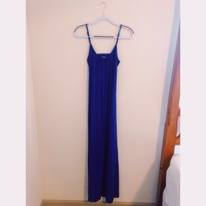 Express maxi dress (royal blue)